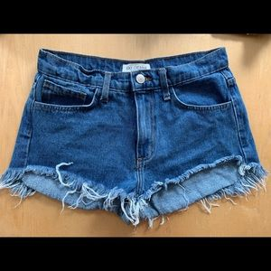 Lulu's high waisted jean shorts